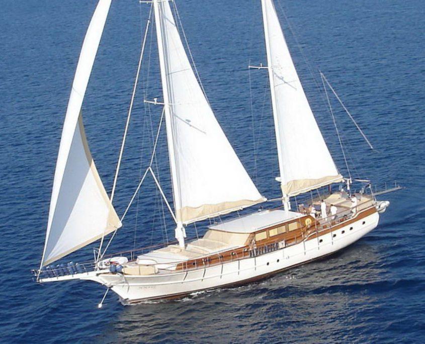 Aegean Schatz, Yacht, 30 m-Yeneryactilik