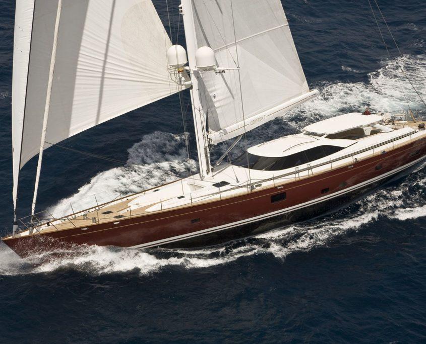 Ludynosa.G, Yacht, 37.5m - Fitzroy Yachts