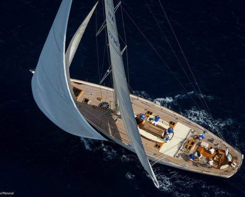 Luxury crewed yacht charters in the Mediterranean