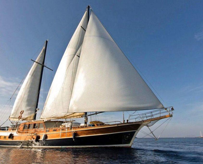 Kaya Guneri 1, Yacht, 26 m