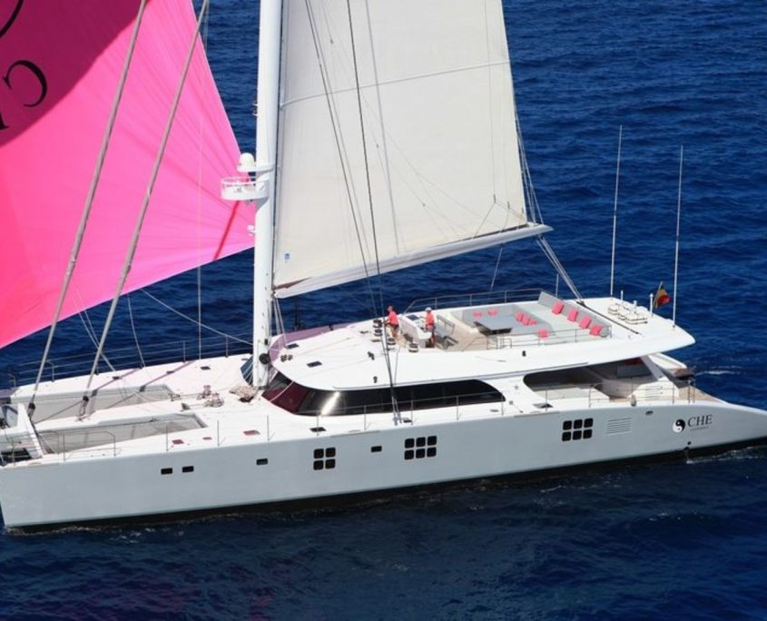 Che, Yacht, 34.72m - Sunreef Yacht