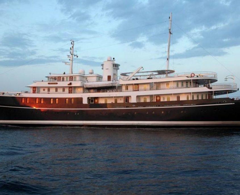 Sherakhan, Yacht, 69.65m - Jan Verkerk