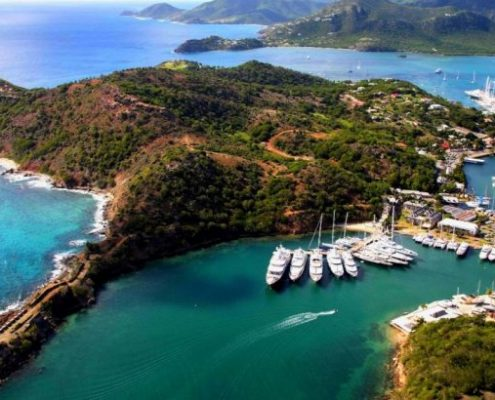 Caribbean sailing holidays