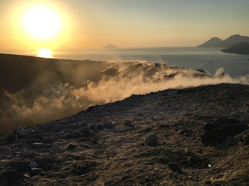 aeolian islands yacht charters volcano