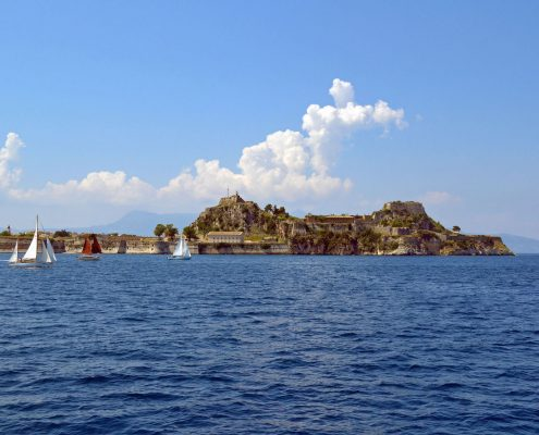 sailing cruises in greece corfu fili