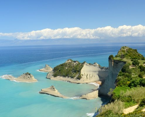 sailing cruises in greece corfu sea