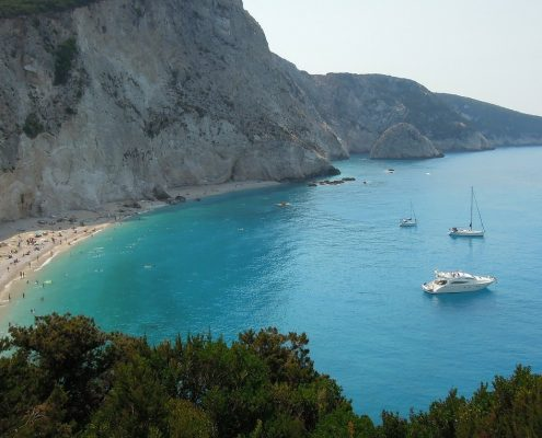 sailing cruises in greece lefkada sea