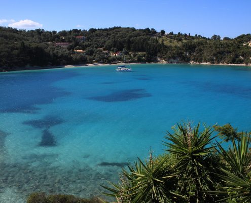 sailing cruises in greece paxos sea