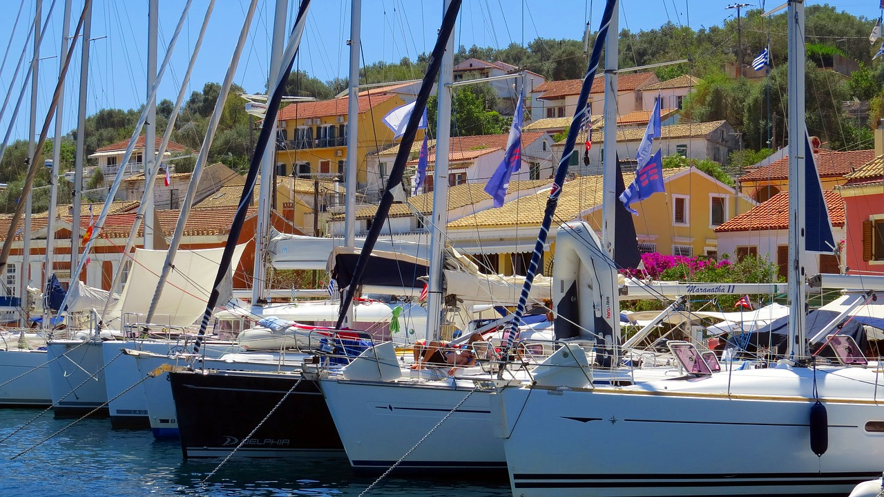 sailing cruises in greece paxos yachts