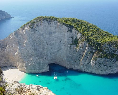 sailing cruises in greece zante