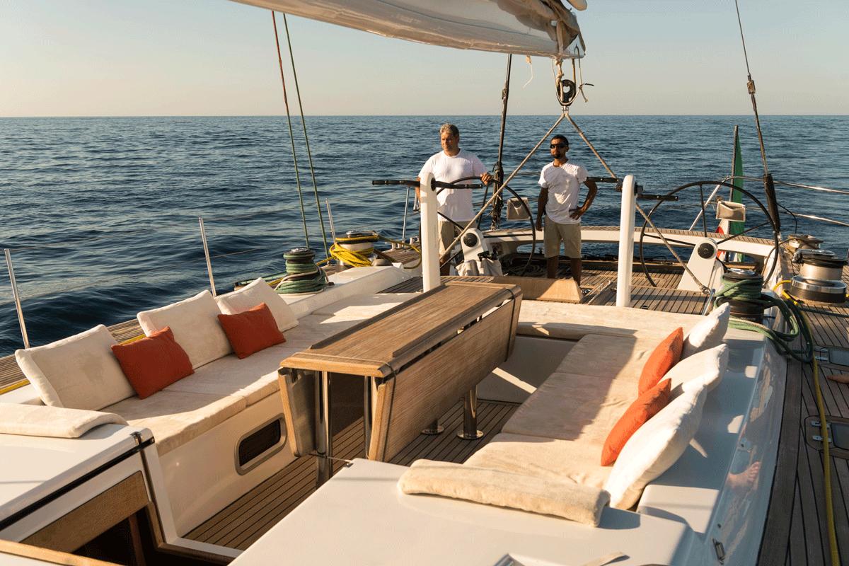 logica yacht steering