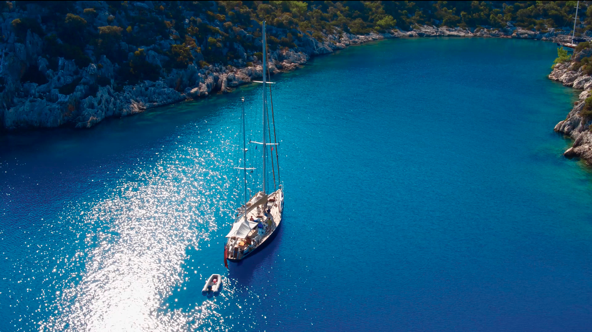 tangaroa sailing yacht greece