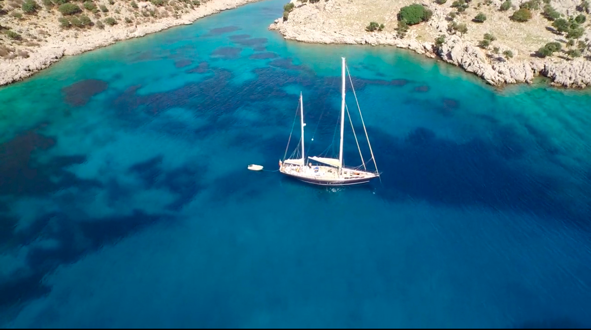 tangaroa saling yacht turkey