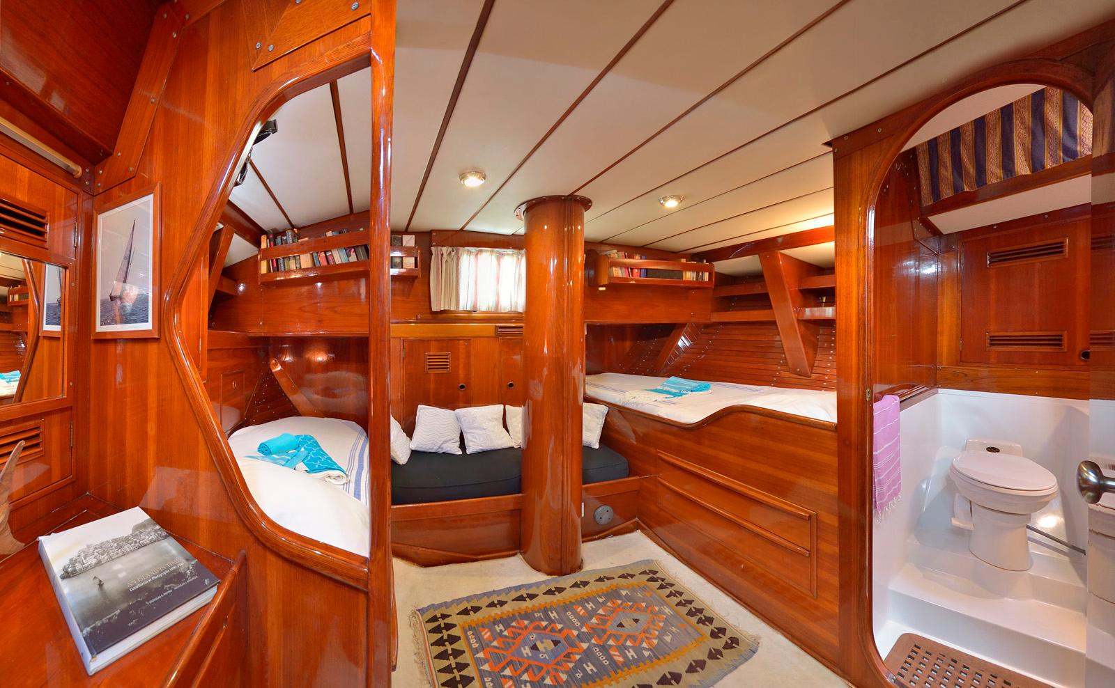 tangaroa yacht master cabin