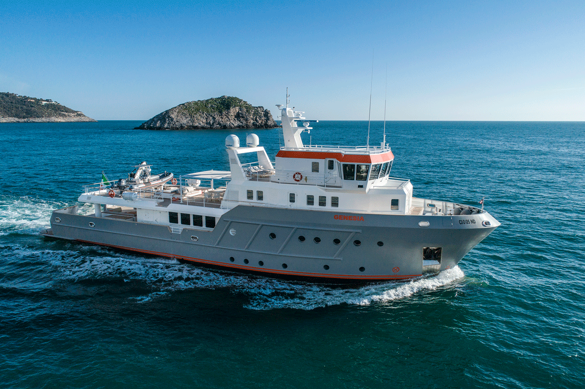 genesia yacht for charter