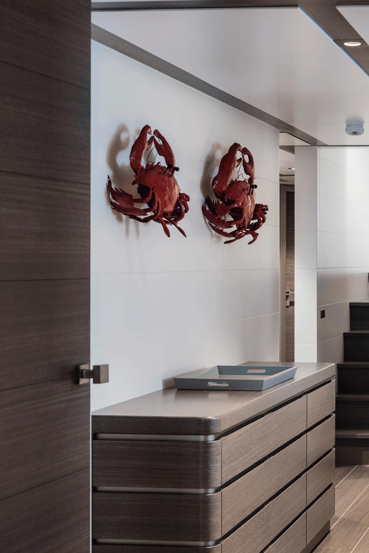 genesia yacht interior details