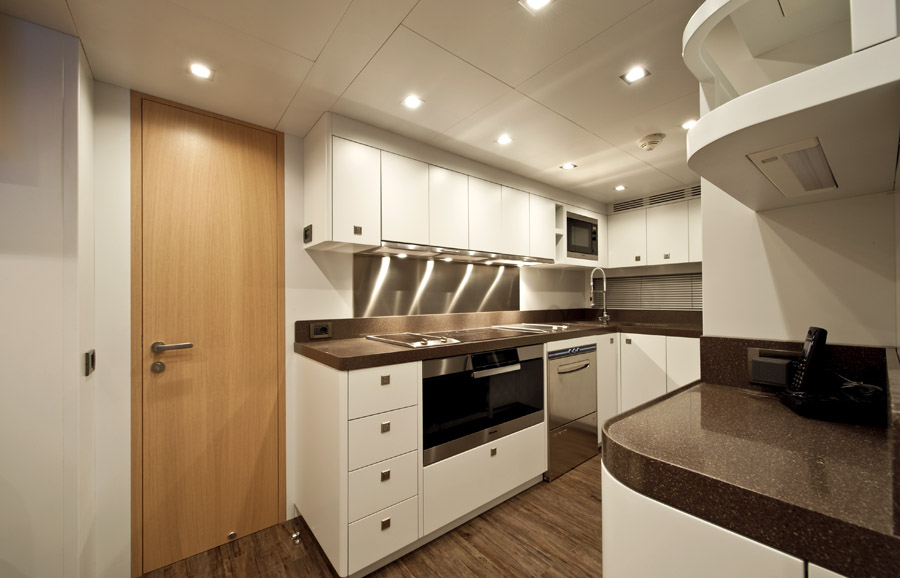 ab yacht musa for sale galley