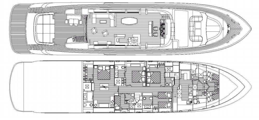 musa yacht layout