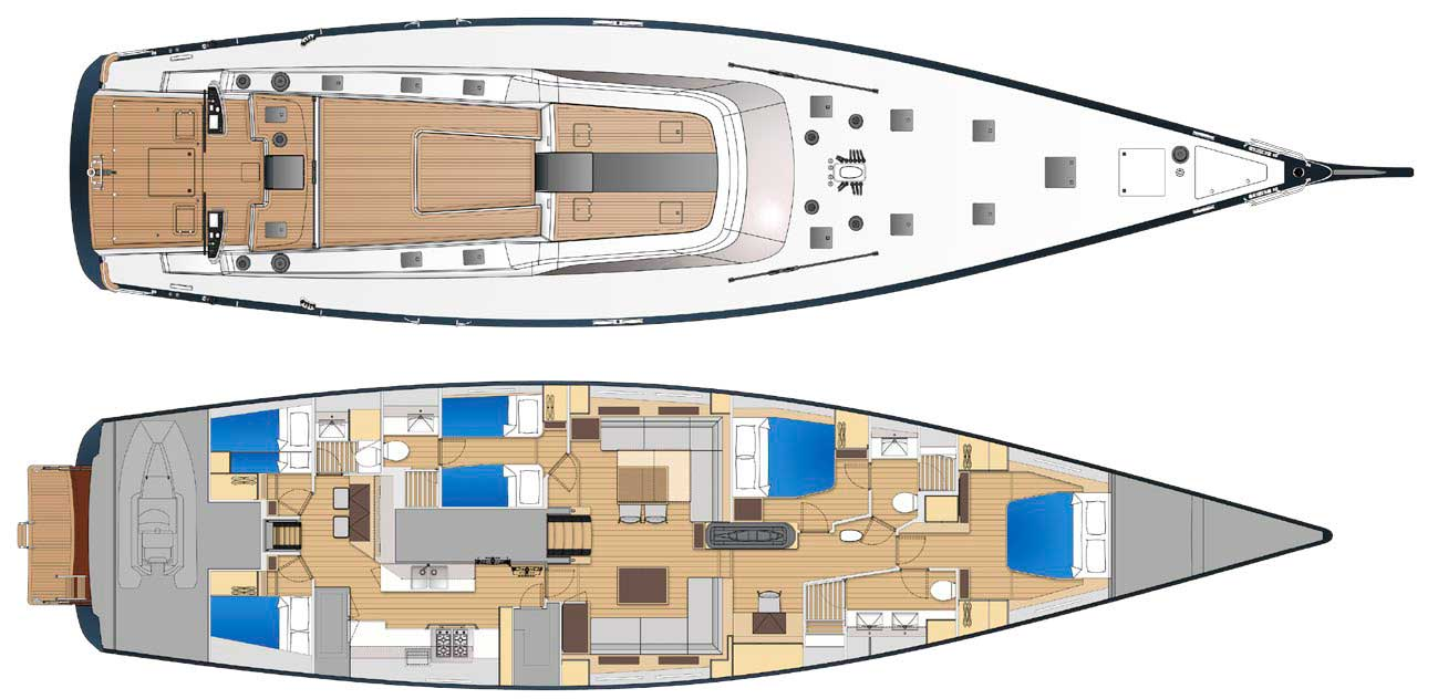 ammonite yacht layout