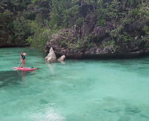 raja ampat paddle board