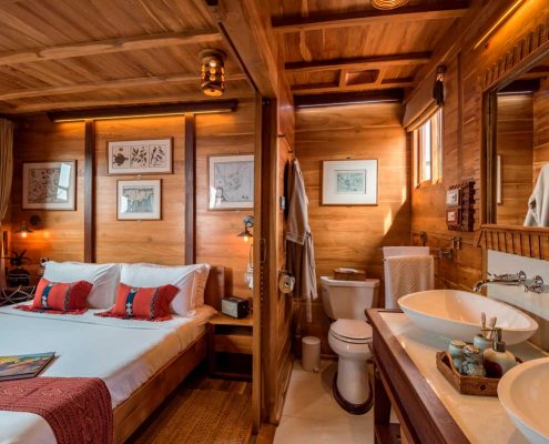 sequoia yacht guests cabin