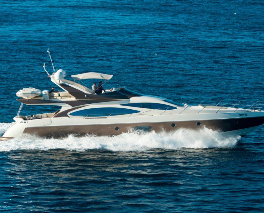 azimut 68 medusa yacht