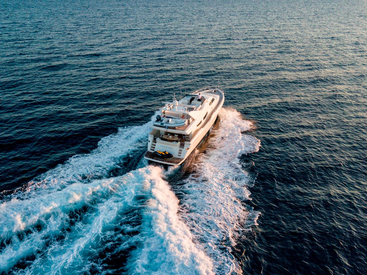 pareaki motor yacht greece