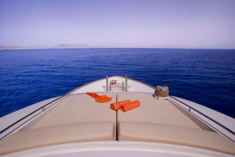 dana yacht sunpads