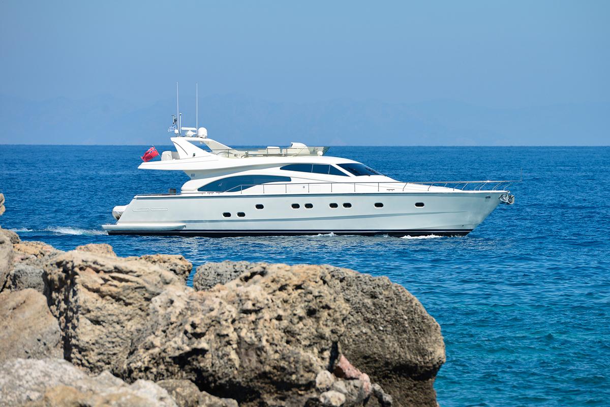 mary ferretti yacht charter