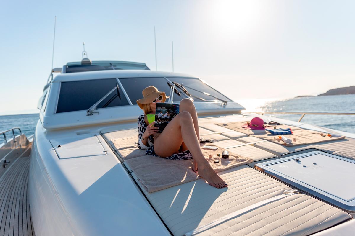 pareaki yacht sunpads