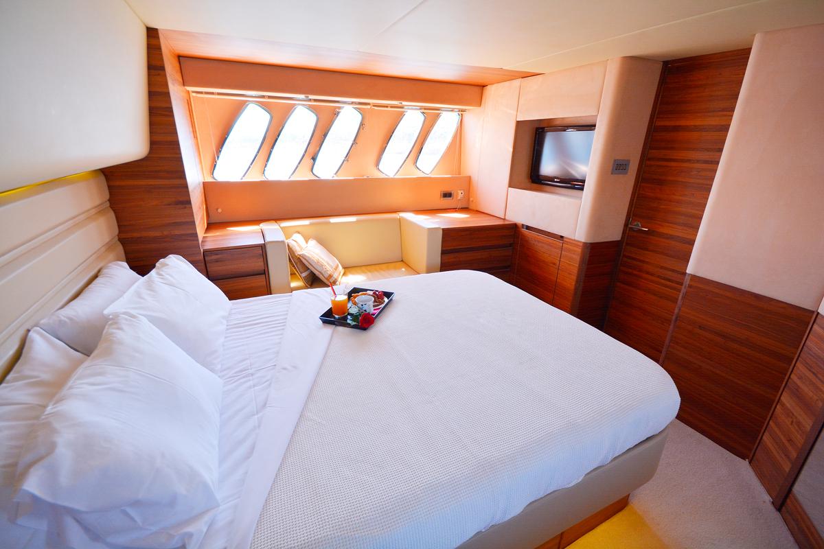 sealine yacht cabin