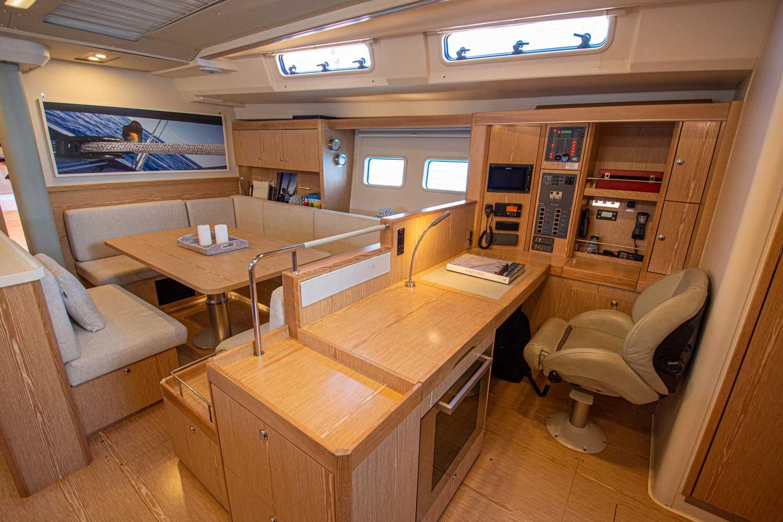 custom yacht interior hanse