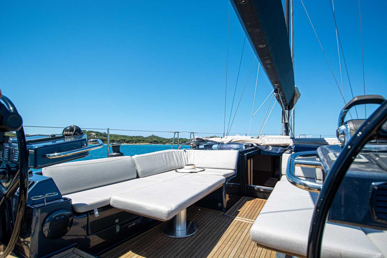 cockpit sailing yacht