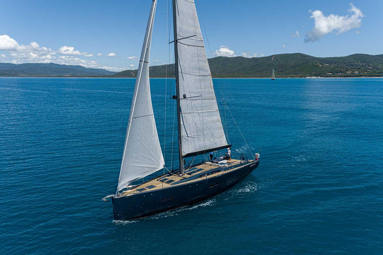 kind of blue sailing