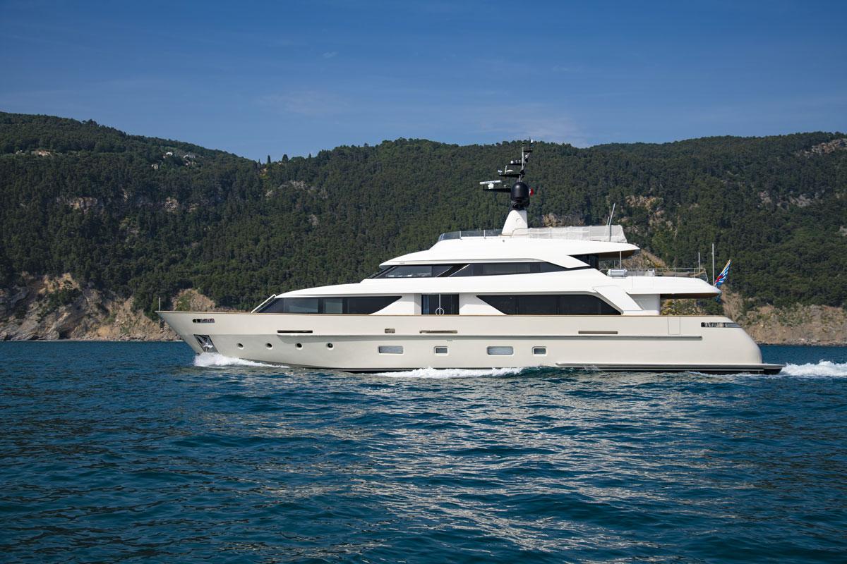 sd 112 sanlorenzo yacht motore